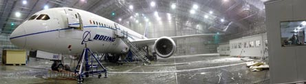 787 ZA003 cold soak, ©Jon Ostrower, Flightglobal