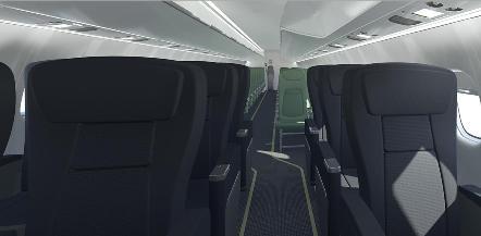 ATR Series 600 interior
