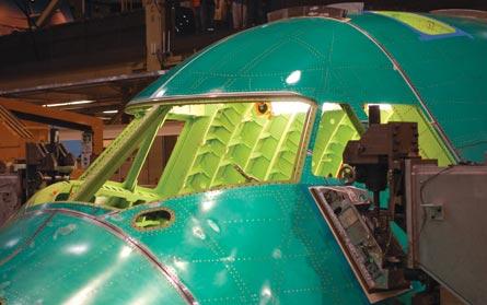 Flight deck, ©Jon Ostrower, Flight