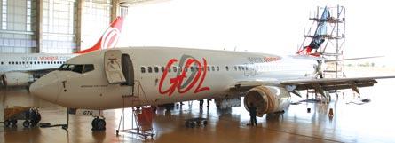 Gol's MRO hangar, ©GOL