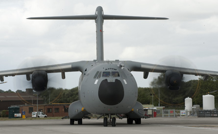 A400M Brize - Andrew Linnett Crown Copyright