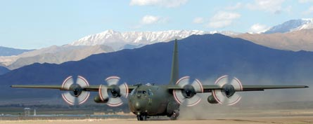 C130 Hercules, ©Crown Copyright
