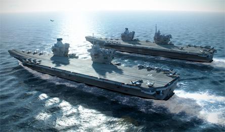 CVF pair - BAE Systems