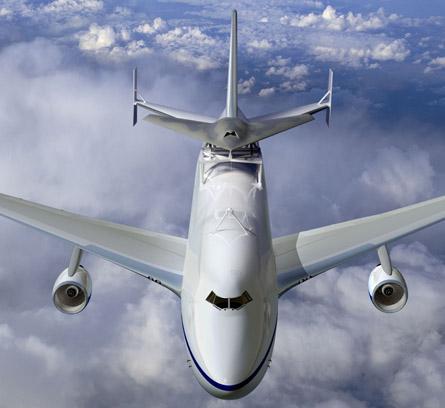 Phantom Ray 747 - Boeing