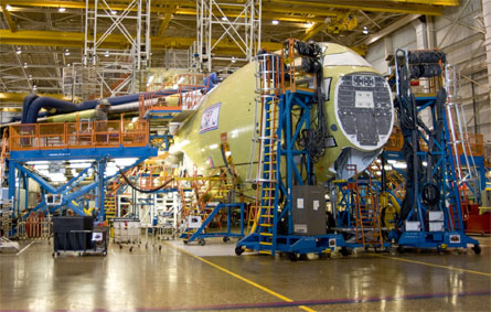 RAF C-17 7 assembly - Boeing