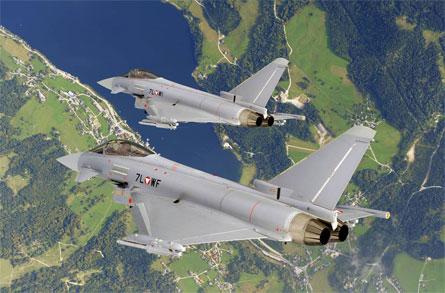 Austria Typhoons Geoffrey Lee Eurofighter