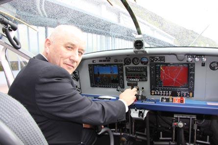 Collins flight tests the PC-6, ©Pilatus