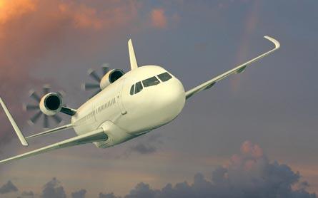 Open rotor engine, ©Tim Brown, Flightglobal