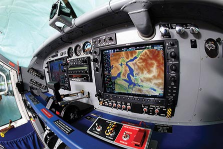 PC-6 cockpit, ©Pilatus