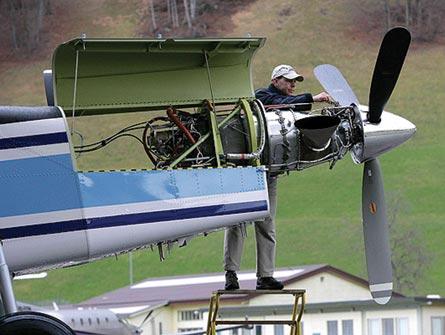P&WC PT6A-27 engine, PC-6, ©Pilatus