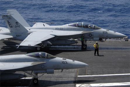 Super Hornets - US Navy