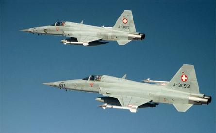 Swiss F-5s - Swiss air force