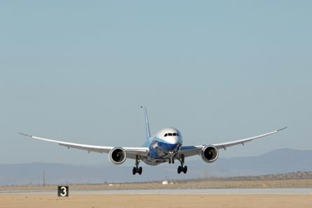 787 in Boeing colours, ©Boeing