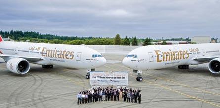 Emirates 777, ©Boeing
