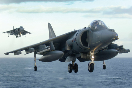 Harrier GR9s - Royal Navy