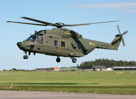 NH90 Sweden - Nina Karlsson Swedish Helicopter Win