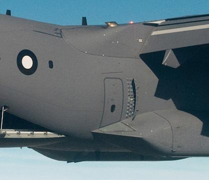 A400M deflector