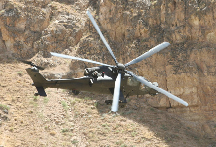 AW129 in Afghan - Italian army