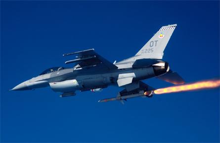 F-16 HARM - USAF