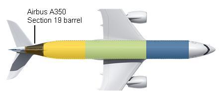 A350 fuselage diagram
