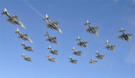Harriers retire - Cpl Al Crowe Crown Copyright