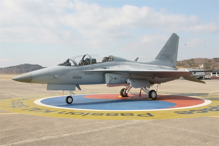 TA-50 roll-out - Korea Aerospace Industries