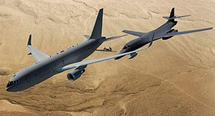 KC-46 and B-1