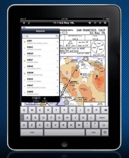 Jeppesen iPad EFB