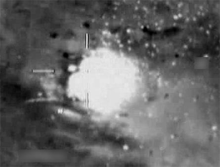 Libyan MBT hit - Crown Copyright