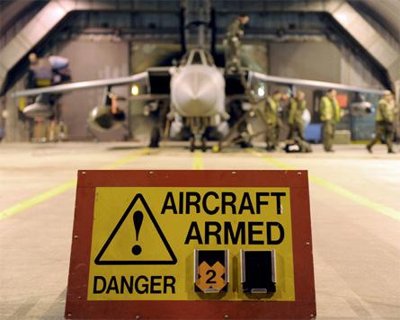 RAF armed Tornado GR4 - Crown Copyright