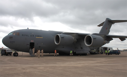 RAF C-17 1 - Sunshine Band gallery AirSpace