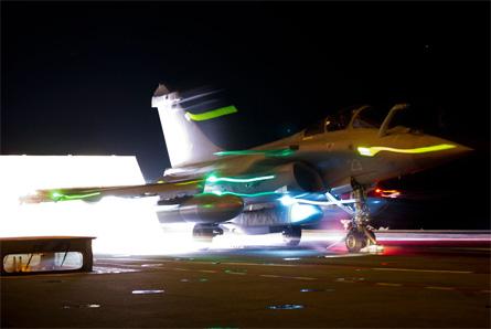 Rafale with SCALP-EG - EMA French navy