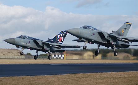 Tornado F3s lift - Craig Hoyle