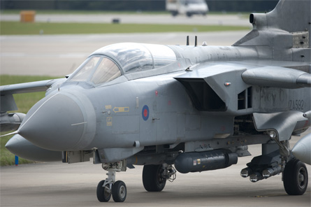 Tornado GR4 Brimstone - Crown Copyright