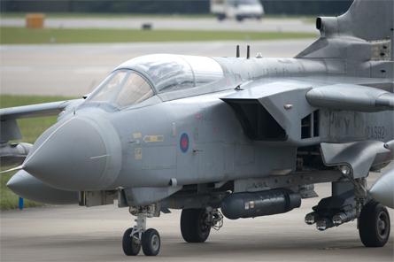 Tornado GR4 Brimstone etc - Crown Copyright