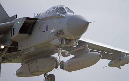 Tornado GR4 Raptor - Albanpix Ltd Rex Features