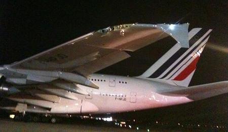 A380 damage