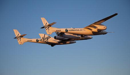 FIN P46 VSS-Enterprise-captive-carry-flight SpaceS