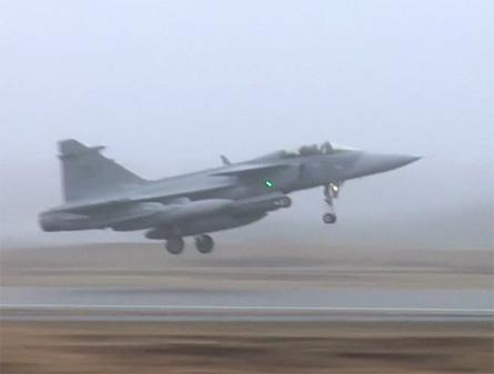 Gripen to Libya screen grab