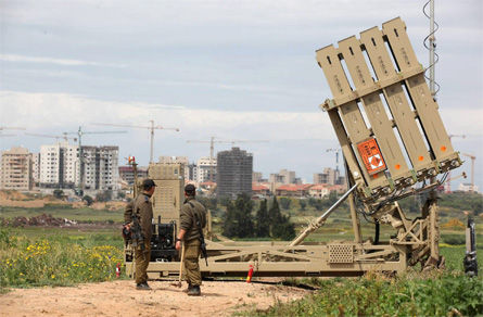 Iron Dome - Israel Sun Rex Features