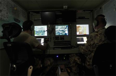 Heron UAV GCS - Australian DoD