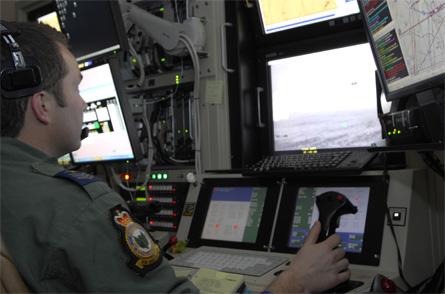 RAF Reaper GCS - Crown Copyright
