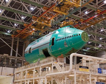 Boeing 747-8I fuselage - Boeing