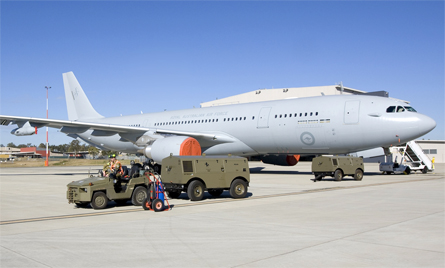 KC-30A 2 tow - Commonwealth of Australia