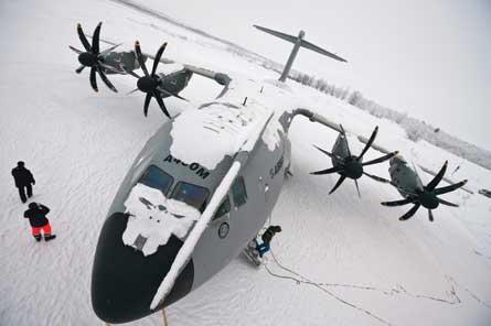 TP400 Kiruna test - Airbus Military