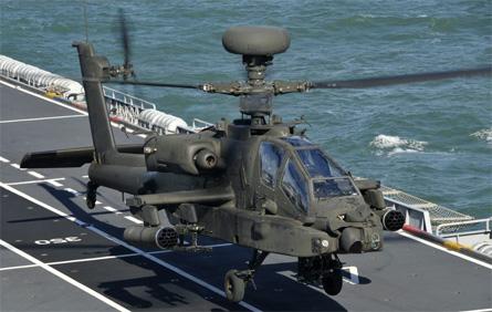British Army Apache - Crown Copyright