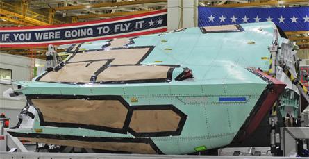 Dutch F-35 fuselage - Northrop Grumman