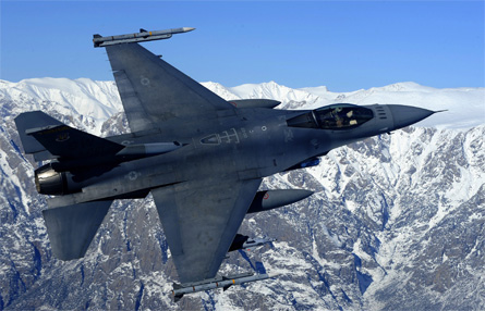 F-16 Afghanistan - Rex Features