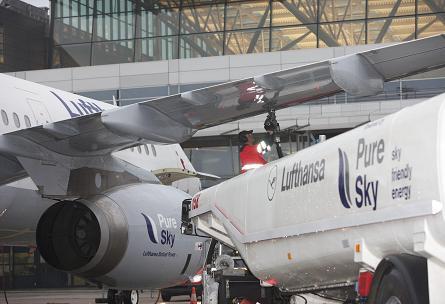 Lufthansa biofuel