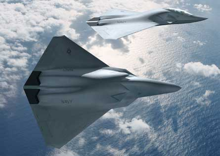 NGAD Air dominance fighter - (c) Boeing